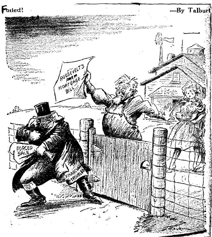 FDR and Farm Issues  Historical Political Cartoons
