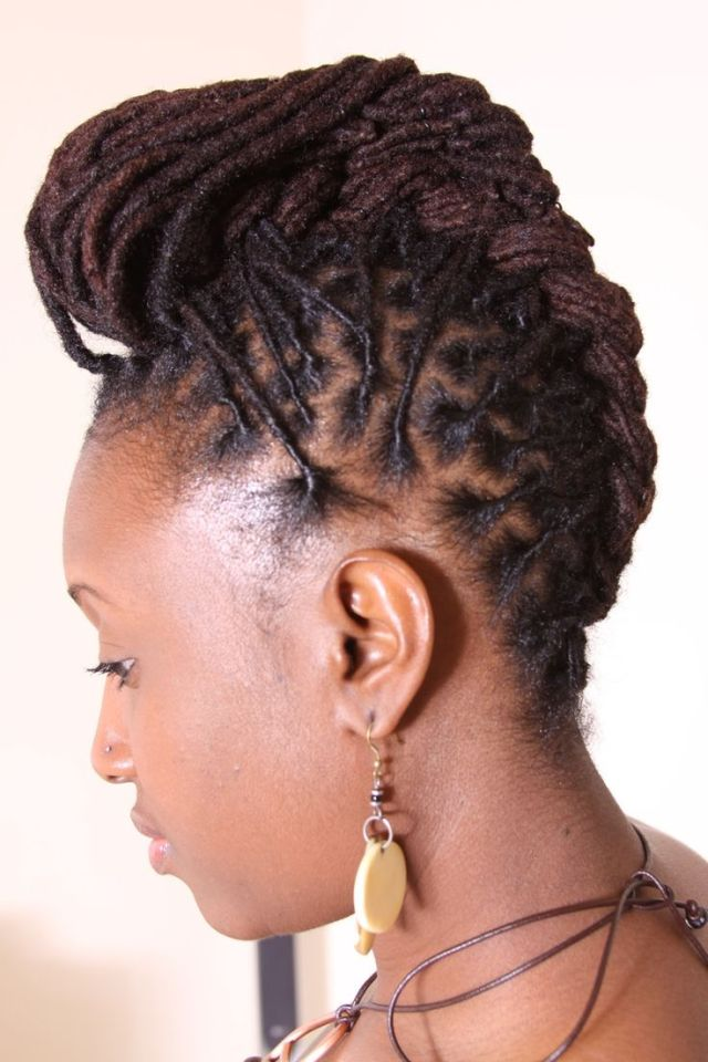 dreadlock updos  for women Google Search Loc Styles