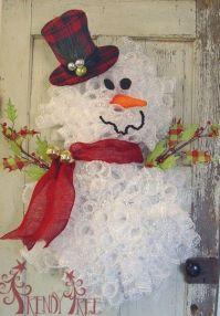 A Frosty The Snowman Christmas Wreath!   Best Christmas ...