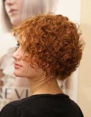 permed hair styles cute