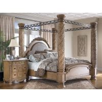 king size canopy bed | king canopy bed  south coast ...