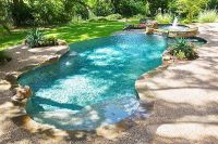 Mountain Lake pool design by Riverbend-Sandler pools ...