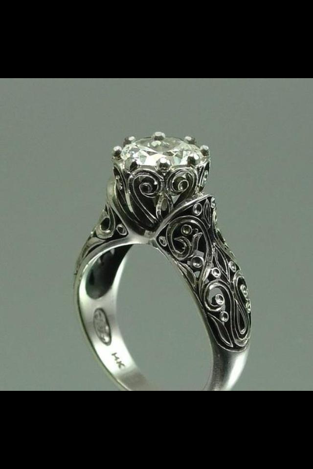 Antique Irish engagement ring  Irish Weddings