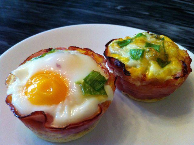 A Paleo Breakfast:  Baked Eggs in H