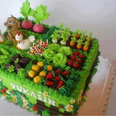 15 Best Images About Garden Cakes On Pinterest Miniature