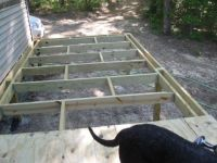 How to Build Your Own Elevated Deck on Uneven Ground - DIY ...