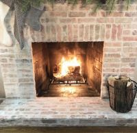 Mortar For Fireplace how to mortar wash german smear a ...