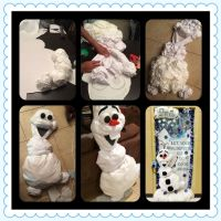 Olaf from 'Frozen' decoration for classroom and other
