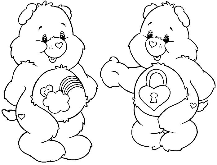 Care Bear Cousins Pages Coloring Pages