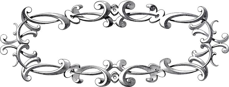 Free Victorian Frame Clip Art ~ Here is a marvelous