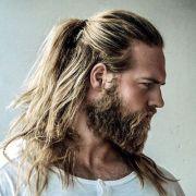 ideas men ponytail