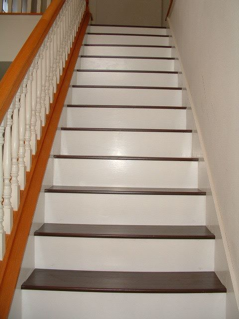 Installing Laminate Flooring on Stairs diy stairs  Lets