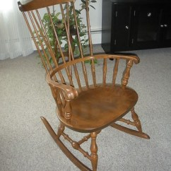 Antique Windsor Chairs Vanity Target Nichols And Stone Of Massachusetts Maple Rocking Chair | Porches, ...