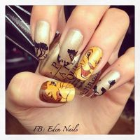 25+ best ideas about Lion King Nails on Pinterest | Hakuna ...