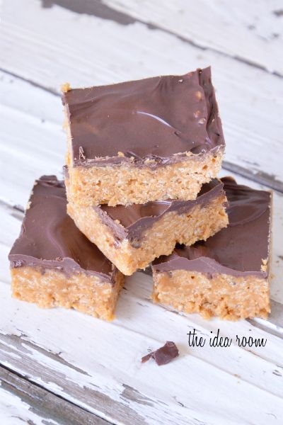 rice-krispie-treats-with-peanut-butter such a great recipe !! All of our family asks for them