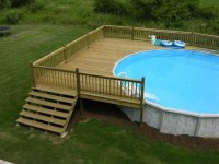 Image result for 24 FT Above Ground Pool Deck Plans ...