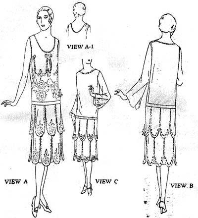 25+ best ideas about 1920s Dress Pattern on Pinterest