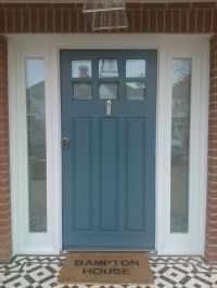 17 Best images about Front Door for 1930s House with Side ...