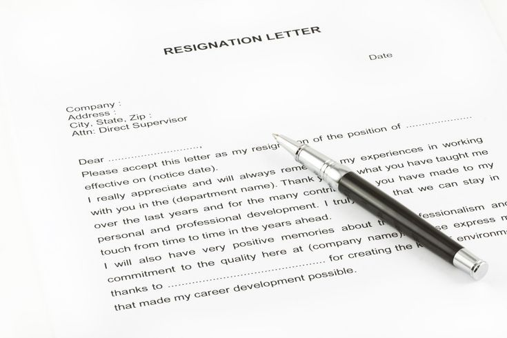 1000+ ideas about Sample Of Resignation Letter on