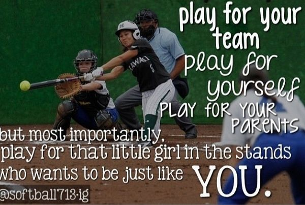 17 Best Cute Softball Quotes on Pinterest Softball