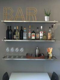 25+ best ideas about Apartment bar on Pinterest