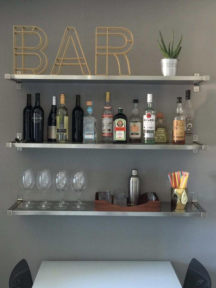 25+ Best Ideas about Bar Shelves on Pinterest
