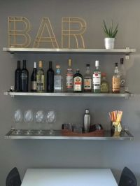 25+ Best Ideas about Bar Shelves on Pinterest | Industrial ...