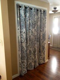 25+ best ideas about Closet door curtains on Pinterest ...