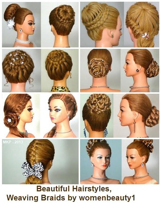 Beautiful Hairstyles Weaving Braids By Womenbeauty1