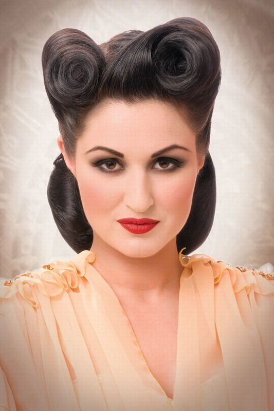 275 Best Images About Pinup Hair On Pinterest Hairstyles Hair