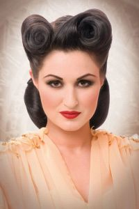 1000+ images about Rockabilly Hair Pinup Style on Pinterest