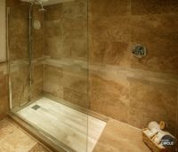 large slate tile for shower | Walnut travertine tiles ...