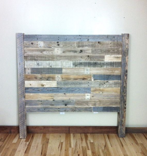 Queen Headboard, Reclaimed Wood, Headboard, Queen Bed, Rustic Home Decor, Queen