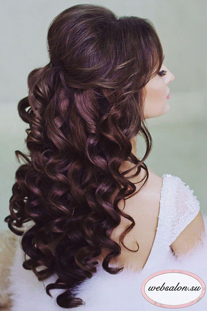 25 Best Ideas About Half Up Half Down Wedding Hair On Pinterest