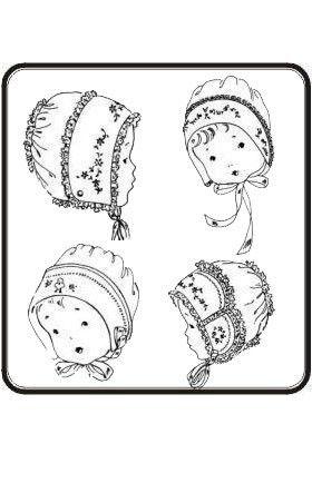 1000+ ideas about Baby Bonnet Pattern on Pinterest