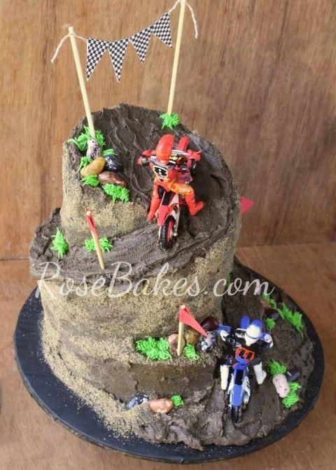 17 Best ideas about Dirt Bike Cakes on Pinterest  Dirt