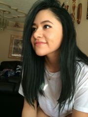 dark green hair jaheksliwjaga