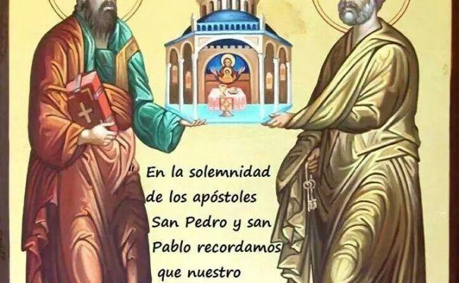San Pedro Y San Pablo God Faith Pinterest