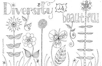 This colouring page is best suited for grade 4 students