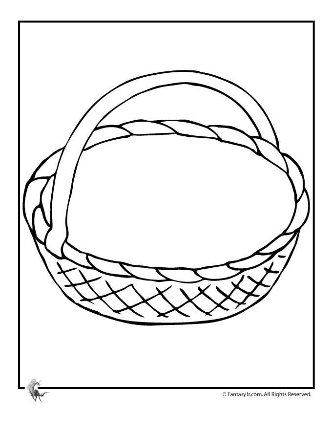 Printable May Day Baskets Printable May Day Basket