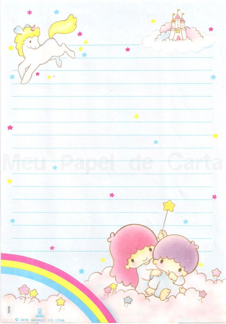Cute Little Fairy Wallpaper Little Twins Star Letter Paper Printable Tabs Note