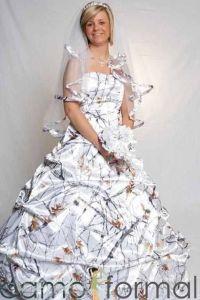17 Best ideas about Camo Wedding Dresses on Pinterest ...