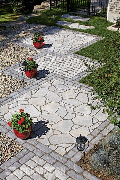 Concrete masonry  landscaping design portfolio  Permacon