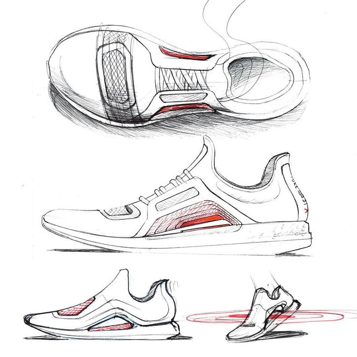 309 best sneaker sketches images on Pinterest