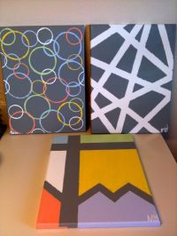 17 Best ideas about Tape Painting on Pinterest | Painters ...