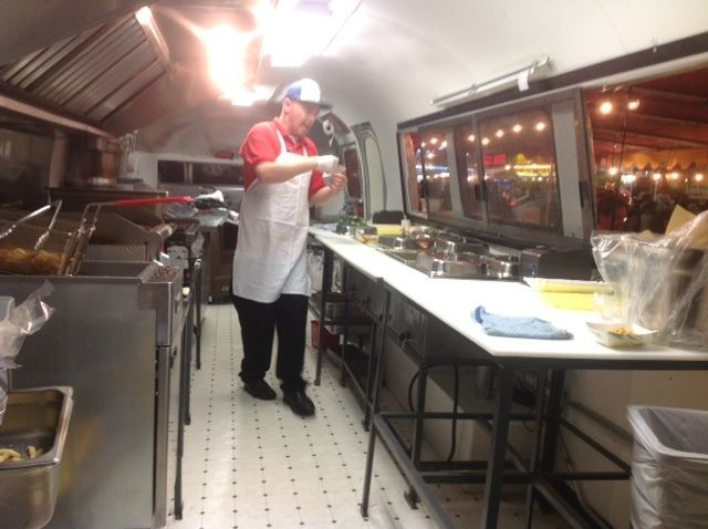 Converted Airstream Concession Food Trailer  The ojays