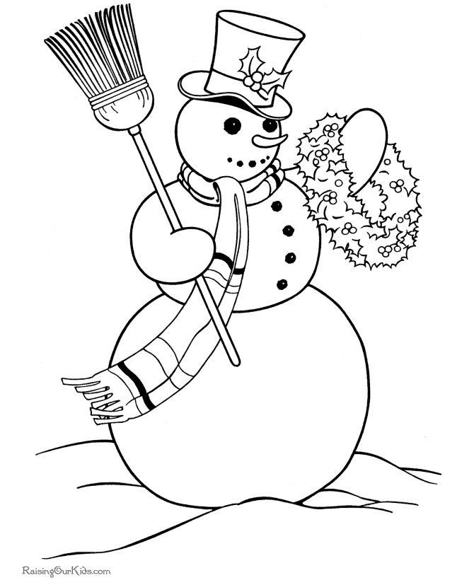 17 Best images about Snowman Printables on Pinterest