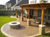 Stamped concrete patio | future home ideas | Pinterest ...