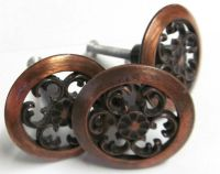 Vintage Copper Drawer Pulls Hardware by ...