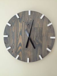 25+ best ideas about Large Wall Clocks on Pinterest   Big ...